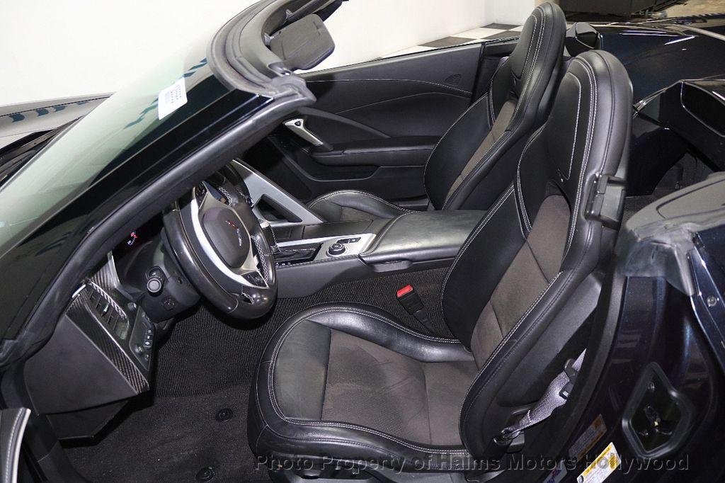 2014 Chevrolet Corvette Stingray 2dr Convertible w/3LT - 17933779 - 16