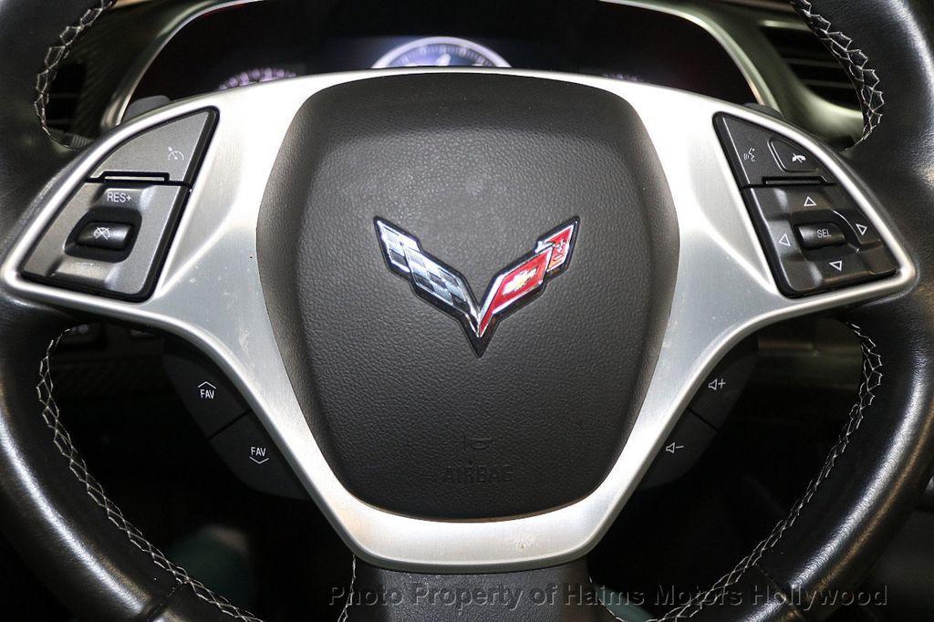 2014 Chevrolet Corvette Stingray 2dr Convertible w/3LT - 17933779 - 27