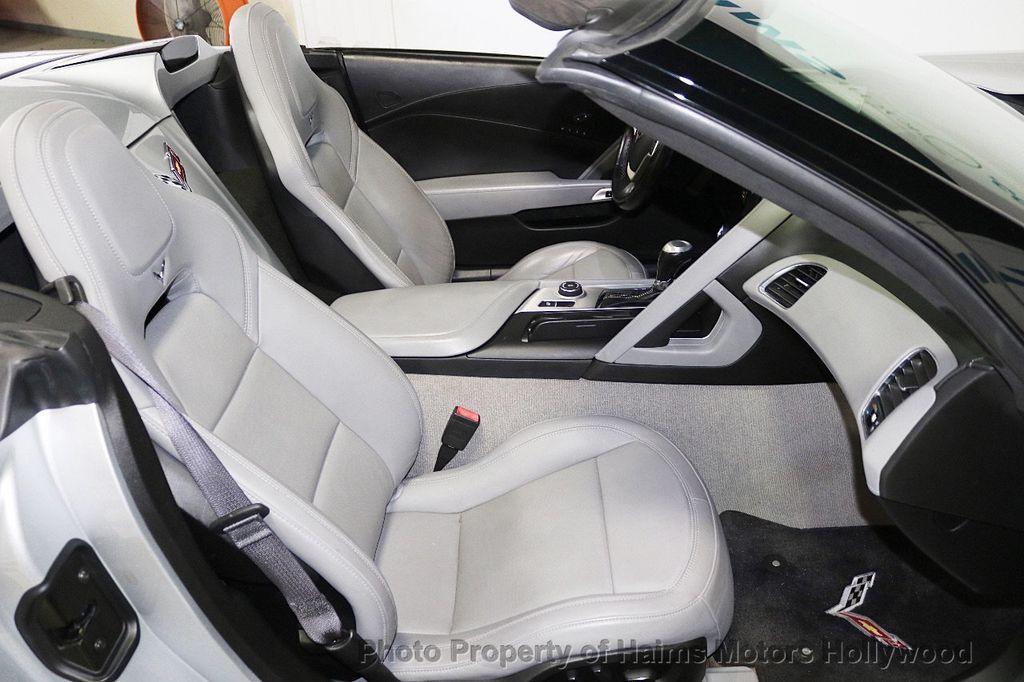 2014 Chevrolet Corvette Stingray 2dr Convertible w/3LT - 18699398 - 14