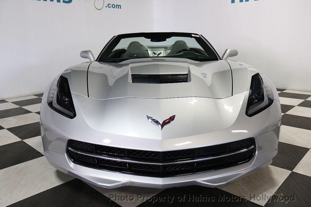 2014 Chevrolet Corvette Stingray 2dr Convertible w/3LT - 18699398 - 2