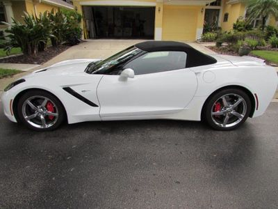 2014 Chevrolet Corvette Stingray 2dr Convertible w/3LT - Click to see full-size photo viewer