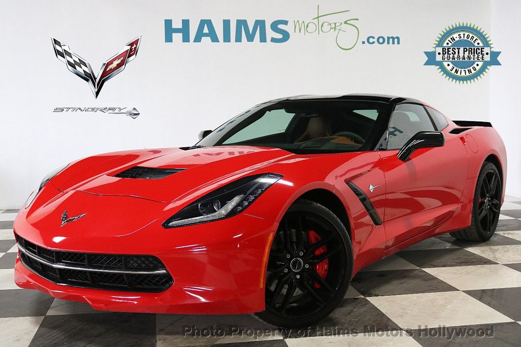 2014 Chevrolet Corvette Stingray 2dr Z51 Coupe w/1LT - 18236373 - 0