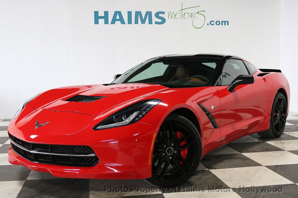 2014 Chevrolet Corvette Stingray 2dr Z51 Coupe w/1LT - 18236373 - 1
