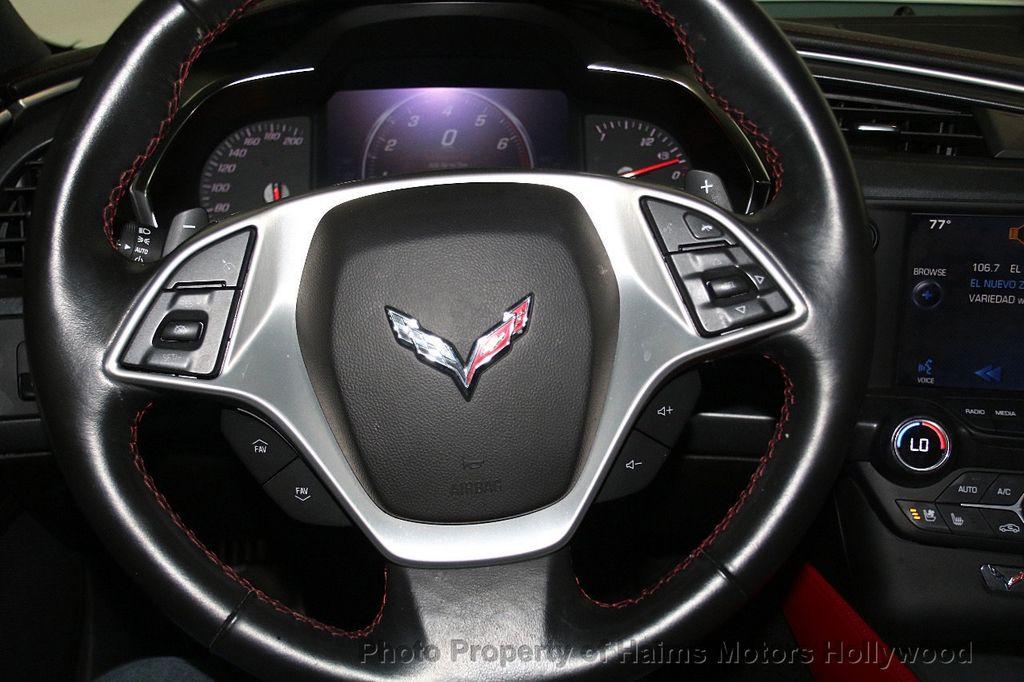2014 Chevrolet Corvette Stingray 2dr Z51 Coupe w/2LT - 18575349 - 24