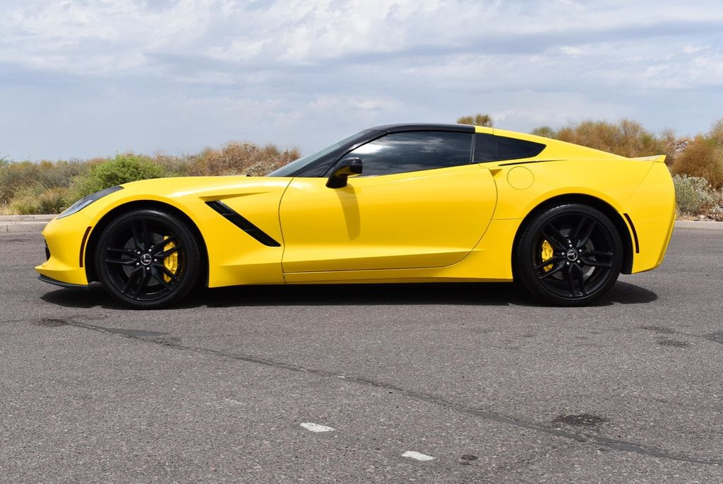 2014 Chevrolet Corvette Stingray 2dr Z51 Coupe w/3LT - 15281605 - 1