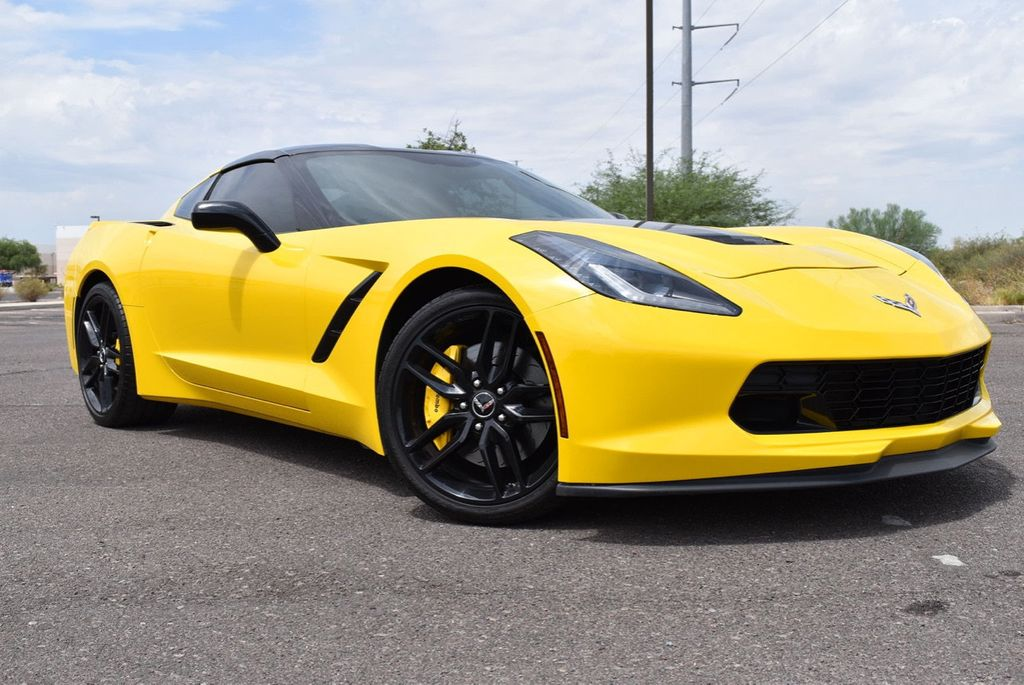 2014 Chevrolet Corvette Stingray 2dr Z51 Coupe w/3LT - 15281605 - 4