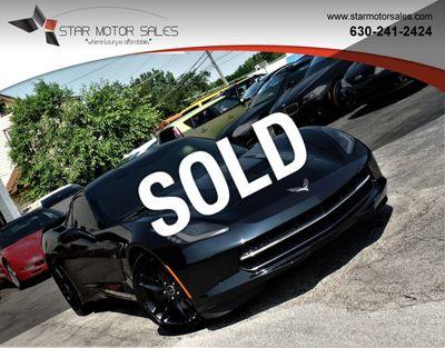 Star Motor Sales >> 2014 Chevrolet Corvette Stingray 2dr Z51 Coupe W 3lt Coupe For Sale Downers Grove Il 37 985 Motorcar Com