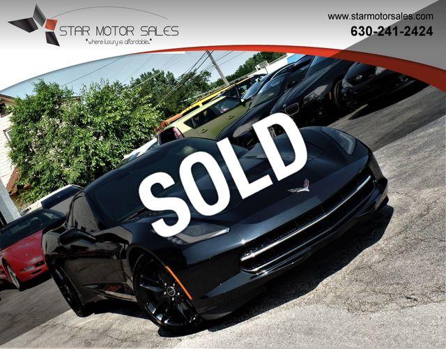 2014 Corvette Stingray For Sale >> 2014 Chevrolet Corvette Stingray 2dr Z51 Coupe W 3lt Coupe For Sale Downers Grove Il 37 985 Motorcar Com