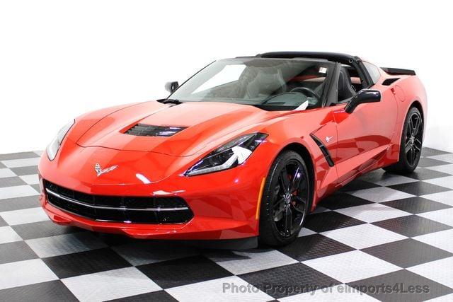 Used Corvette Stingray >> 2014 Used Chevrolet Corvette Stingray Certified Corvette 2lt Coupe