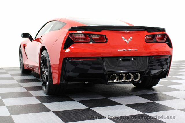 2014 Chevrolet Corvette Stingray CERTIFIED CORVETTE 2LT COUPE ZF1 APPEARANCE PACKAGE - 16676117 - 14