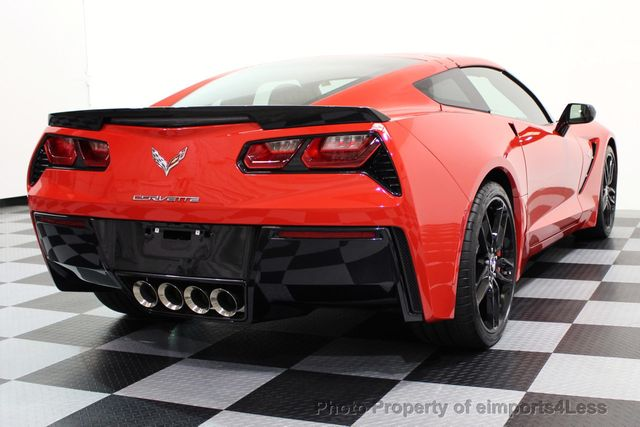 2014 Chevrolet Corvette Stingray CERTIFIED CORVETTE 2LT COUPE ZF1 APPEARANCE PACKAGE - 16676117 - 16