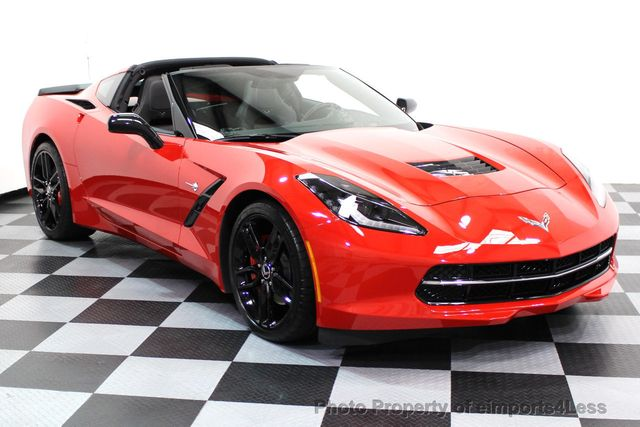 2014 Chevrolet Corvette Stingray CERTIFIED CORVETTE 2LT COUPE ZF1 APPEARANCE PACKAGE - 16676117 - 1
