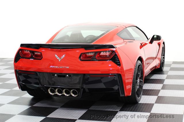 2014 Chevrolet Corvette Stingray CERTIFIED CORVETTE 2LT COUPE ZF1 APPEARANCE PACKAGE - 16676117 - 28