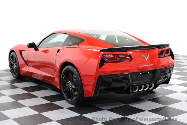 2014 Chevrolet Corvette Stingray CERTIFIED CORVETTE 2LT COUPE ZF1 APPEARANCE PACKAGE - 16676117 - 37
