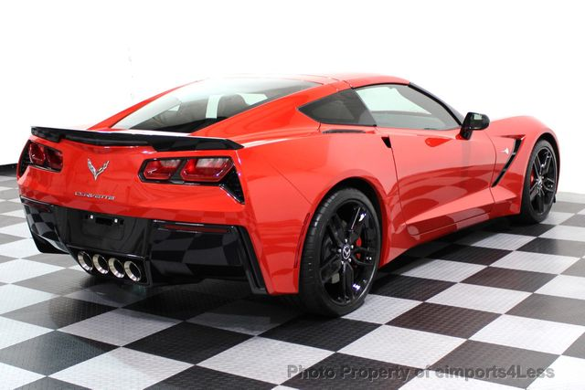 2014 Chevrolet Corvette Stingray CERTIFIED CORVETTE 2LT COUPE ZF1 APPEARANCE PACKAGE - 16676117 - 38