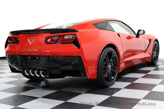 2014 Chevrolet Corvette Stingray CERTIFIED CORVETTE 2LT COUPE ZF1 APPEARANCE PACKAGE - 16676117 - 46