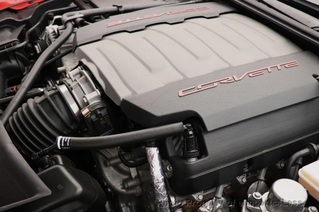 2014 Chevrolet Corvette Stingray CERTIFIED CORVETTE STINGRAY 3LT NAV CAM - 18587085 - 17