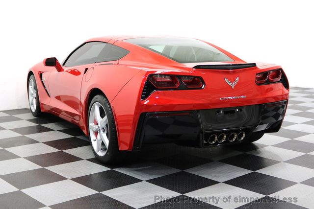 2014 Chevrolet Corvette Stingray CERTIFIED CORVETTE STINGRAY 7 SPEED MANUAL TRANS - 17906803 - 16