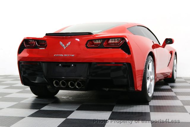 2014 Chevrolet Corvette Stingray CERTIFIED CORVETTE STINGRAY 7 SPEED MANUAL TRANS - 17906803 - 18