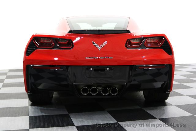 2014 Chevrolet Corvette Stingray CERTIFIED CORVETTE STINGRAY 7 SPEED MANUAL TRANS - 17906803 - 33