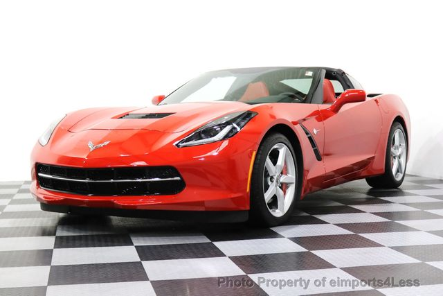 2014 Chevrolet Corvette Stingray CERTIFIED CORVETTE STINGRAY 7 SPEED MANUAL TRANS - 17906803 - 53