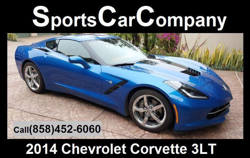 2014 Chevrolet Corvette Stingray CORVETTE w/ T-TOPS - 17231258 - 1