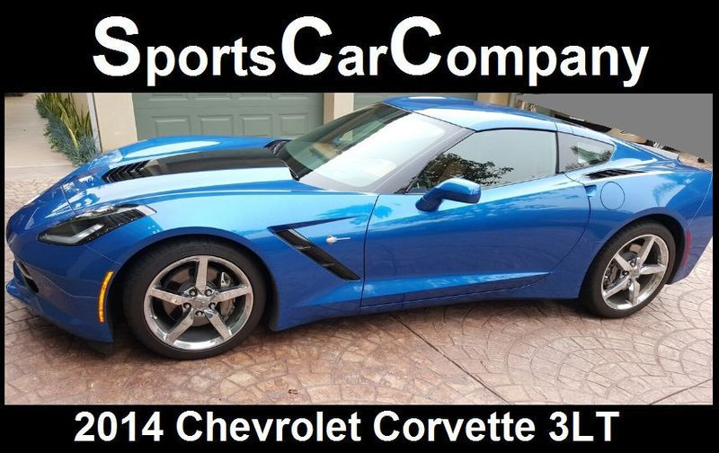 2014 Chevrolet Corvette Stingray CORVETTE w/ T-TOPS - 17231258 - 2