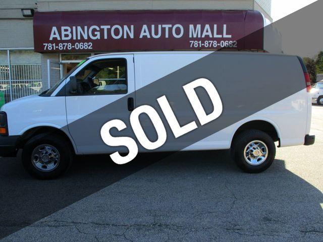 """2014 Chevrolet Express Cargo Van RWD 3500 135"""""""