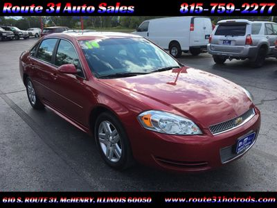 2014 Chevrolet Impala Limited 4dr Sedan LT