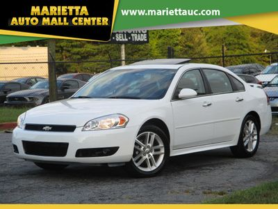 2014 Chevrolet Impala Limited 4dr Sedan LTZ