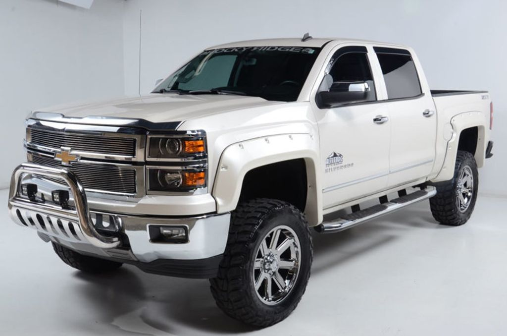 2014 Chevrolet Silverado 1500 4WD LTZ Z71 NAV HEATED LEATHER NICE LOCAL TRADE-IN  - 16600831 - 1