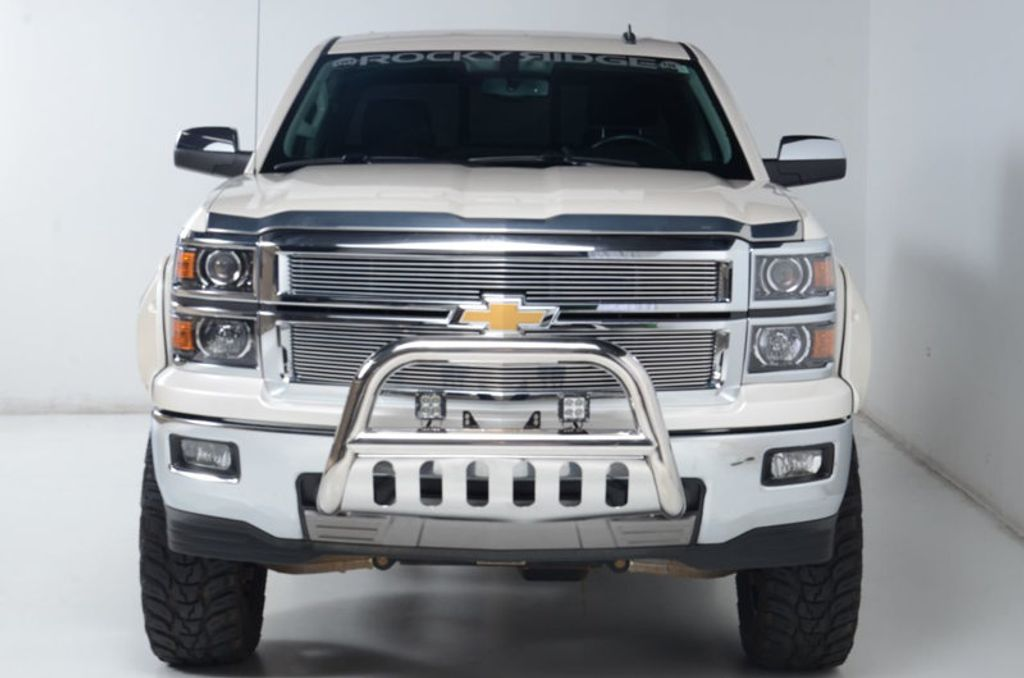 2014 Chevrolet Silverado 1500 4WD LTZ Z71 NAV HEATED LEATHER NICE LOCAL TRADE-IN  - 16600831 - 8