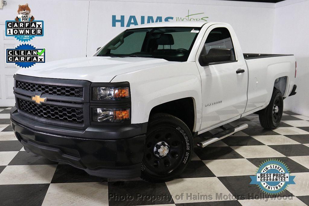 2014 Chevrolet Silverado 1500 Work Truck - 18596539 - 0