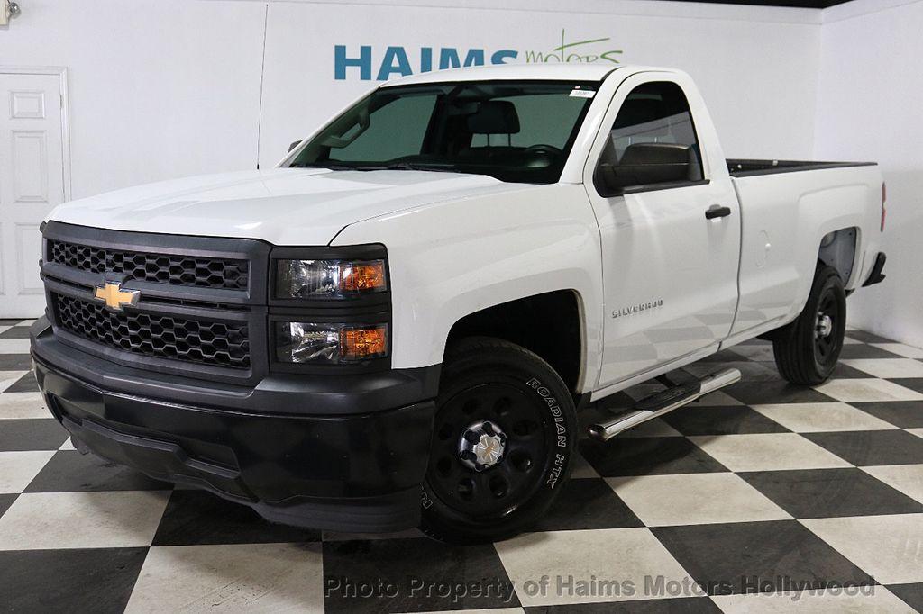 2014 Chevrolet Silverado 1500 Work Truck - 18596539 - 1