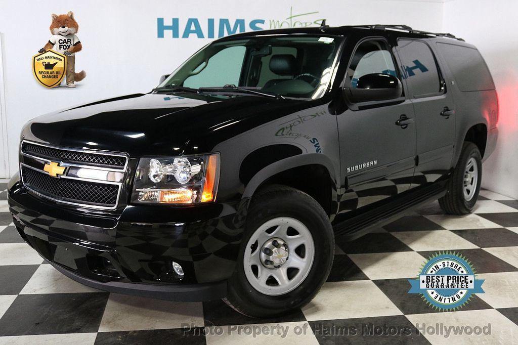 2014 Chevrolet Suburban 4WD 4dr LT - 18607414 - 0