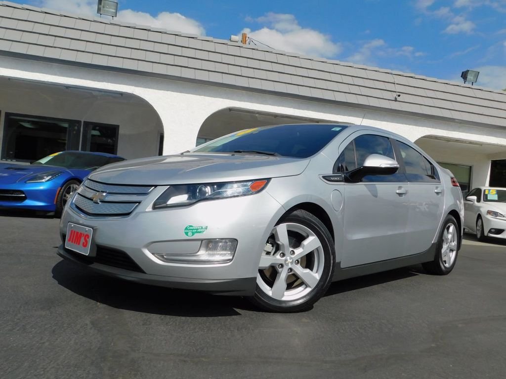 2014 Chevrolet Volt CA Owned And Autocheck Crtfd  - 18196160 - 0
