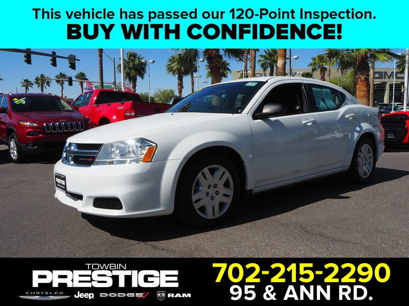 2014 Dodge Avenger 4dr Sedan SE - 17712727 - 0