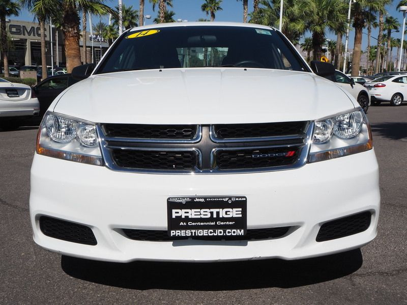 2014 Dodge Avenger 4dr Sedan SE - 17712727 - 1