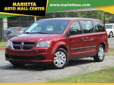 2014 Dodge Grand Caravan 4dr Wagon American Value Pkg