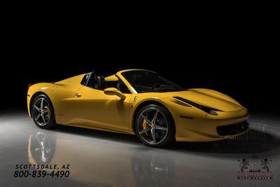 2014 Ferrari 458 Italia 2dr Convertible