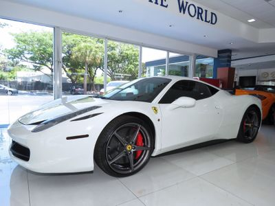 2014 Ferrari 458 Italia 2dr Coupe - Click to see full-size photo viewer