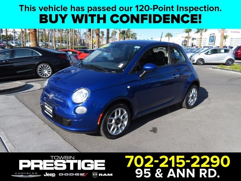 2014 Fiat 500 2dr Hatchback Pop - 17120988 - 0