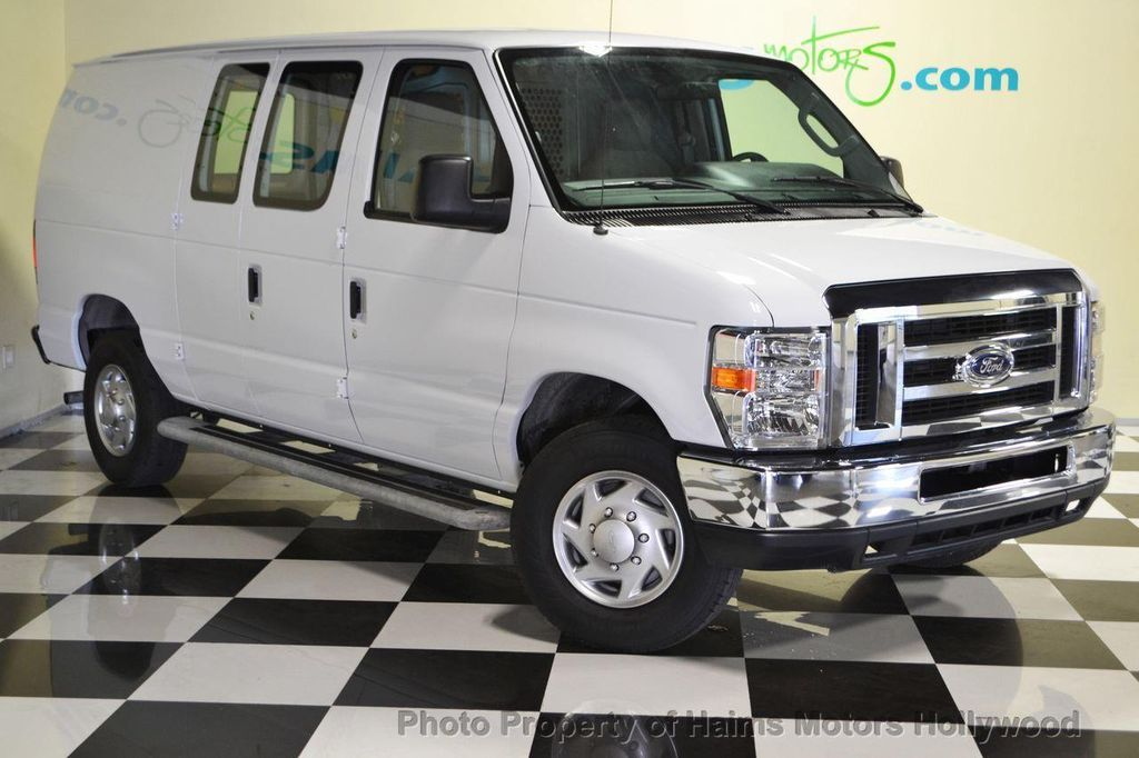 2014 Used Ford Econoline Cargo Van E 250 Commercial At