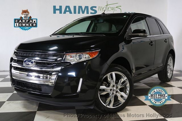 Used Ford Edge Dr Limited Fwd At Haims Motors Serving Fort Lauderdale Hollywood Miami Fl Iid