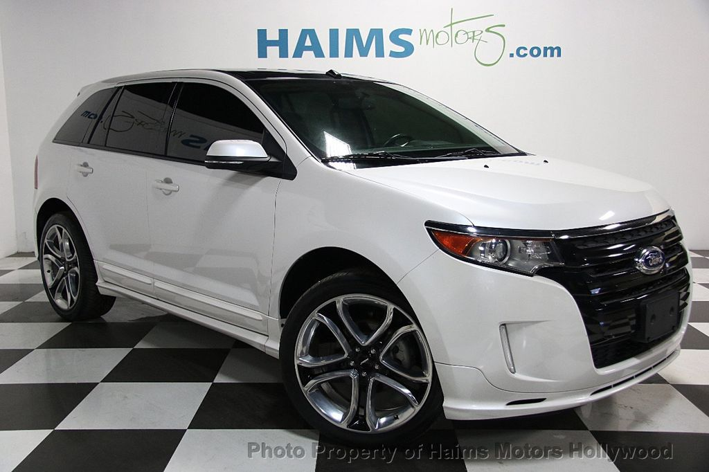 ford edge dr sport fwd  haims motors serving fort lauderdale hollywood miami fl