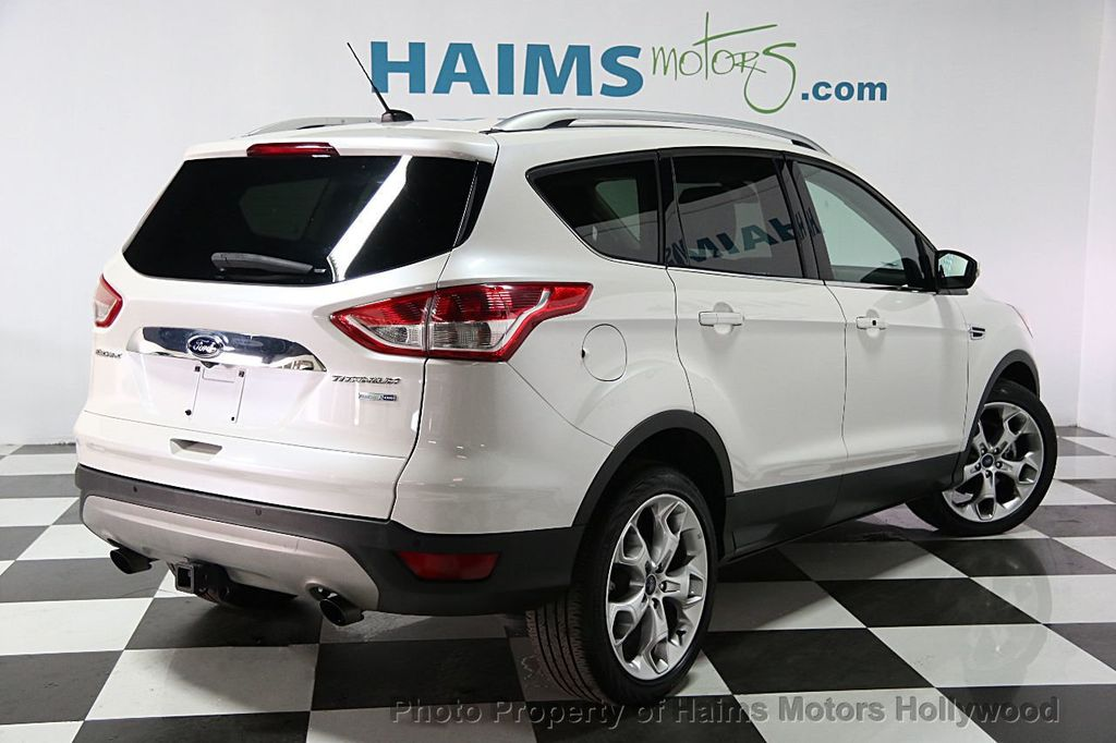 2014 used ford escape 4wd 4dr titanium at haims motors serving fort lauderdale hollywood miami. Black Bedroom Furniture Sets. Home Design Ideas