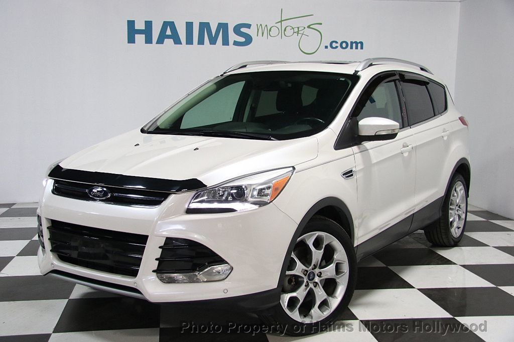 Ford Dealership Fort Lauderdale >> 2014 Used Ford Escape FWD 4dr Titanium at Haims Motors Serving Fort Lauderdale, Hollywood, Miami ...