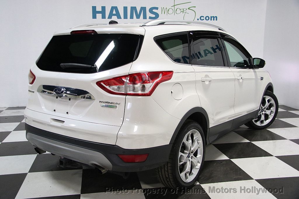 2014 used ford escape fwd 4dr titanium at haims motors serving fort lauderdale hollywood miami. Black Bedroom Furniture Sets. Home Design Ideas