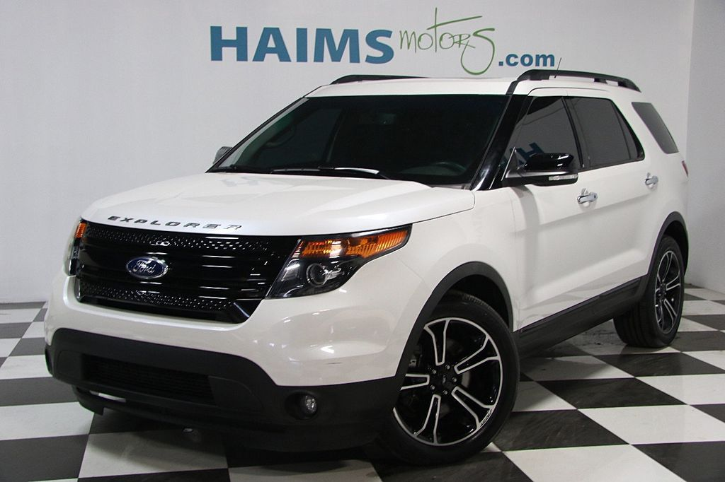 2014 Used Ford Explorer 4WD 4dr Sport at Haims Motors Serving Fort ...