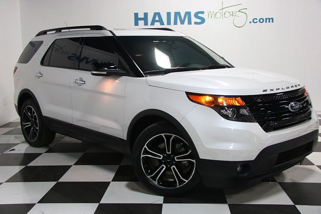Ford Dealership Fort Lauderdale >> 2014 Used Ford Explorer 4WD 4dr Sport at Haims Motors Serving Fort Lauderdale, Hollywood, Miami ...